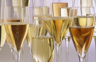 Champagne and other sparkling wines